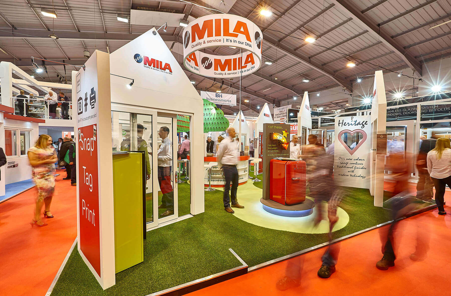 MILA359 After the success of 20162c Mila is back at the FIT Show in 2019