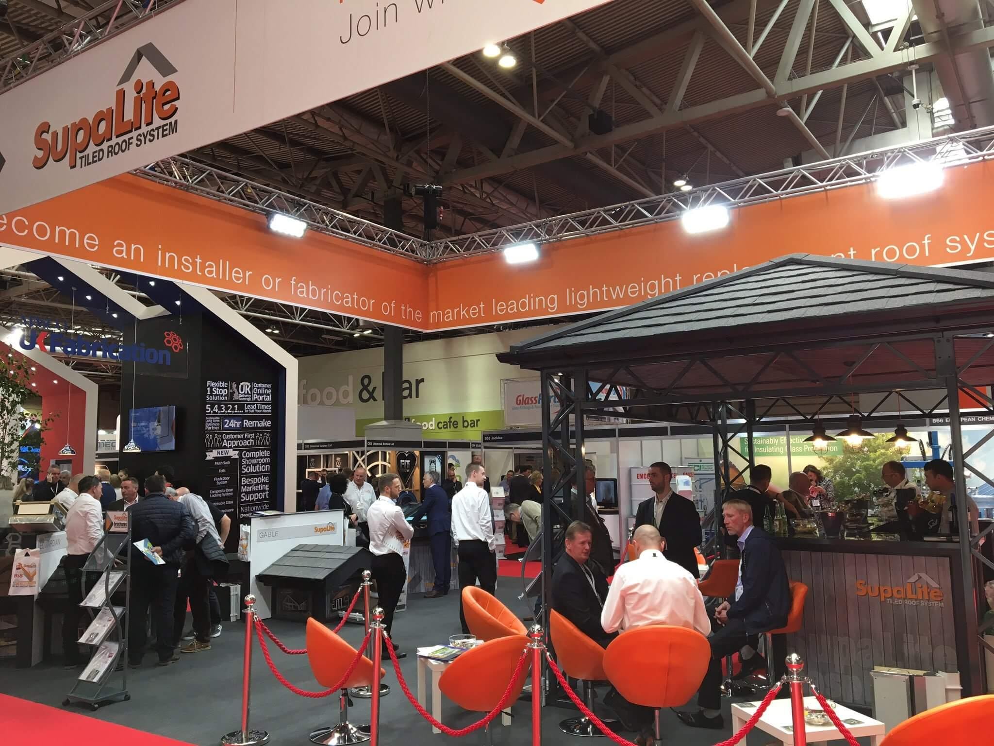 PR455 Tiled roof specialists SupaLite stamps ticket for FIT Show 2019