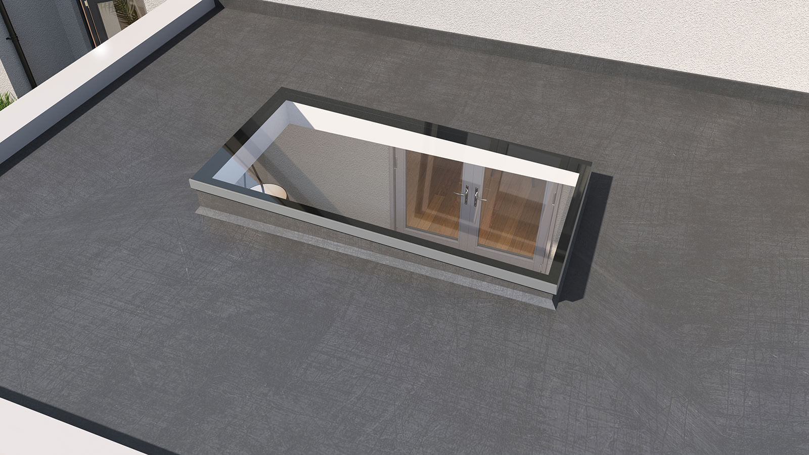 Prefix Launch Super Slim OPAL Flat Rooflight