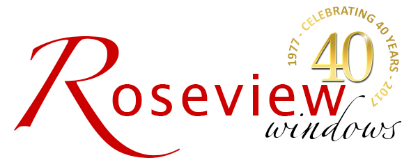 Roseview logo 40th