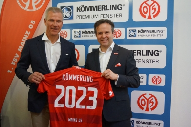 PROFINE BECOMES RECORD MAIN SPONSOR OF 1. FSV MAINZ 05